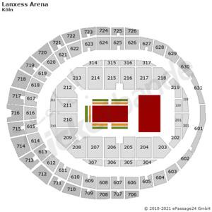 Let's Dance Köln Tickets 27.11.2021 Sitzplätze an der Tanzfläche Reihe 3