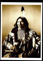 ⫸ 937 Postcard KICKING BEAR, Miniconjou Sioux – 1896 Photo by William Dinwiddie