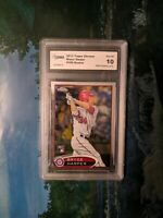 2012 Topps Chrome Bryce Harper GMA 10 Gem Mint RC Graded MLB Rookie Card