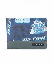 RIP CURL MENS WALLET.ROCKERED BLUE MONEY CREDIT CARD COIN NOTE PURSE 7W UPV4 70