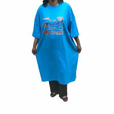 WOMEN NIGHTSHIRT SLEEP SHIRT ONE SIZE PLUS 1X-3X TRUST IN THE LORD