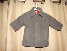 GYMBOREE boys sz 18-24 months gray wool coat dressy excellent lined button front