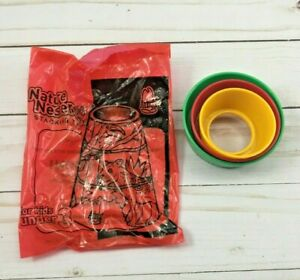Arby's 2005 Nature Nesters Stacking Toy 3 Pieces Kid's Meal Restaurant