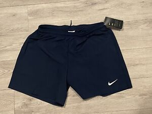 New Nike Laser Woven III Soccer Futbol Short Women's Medium Black Dri-Fit 725952