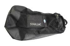 Stahlsac Scuba Diving Mesh 30x20 Backpack Gear Bag Black Watersports
