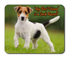 Jack Russell Dog Mouse Mat - My Best Friend