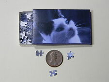 "Mini Jigsaw Puzzle 100 piece 1:12 ""Cute Cat"""