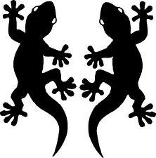 Autoaufkleber Sticker Tattoo - 2 Geckos wie abgebildet - 2 Größen -Artikel 422
