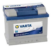 Varta Blue Dynamic D 43 12 V 60 Ah 540 A L242 mm x B 175 mm x H 190 mm