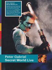 Peter Gabriel-Secret World Live DVD NUOVO