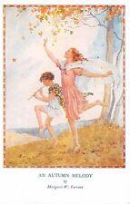 "Signed Margaret Tarrant u. 1942 ""Autumn Melody"" Magic of Childhood Series #1912"