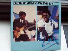 LINX, THROW AWAY THE KEY / THE ICE IS MELTING. ORIGINAL 1981 CHRYSALIS SINGLE