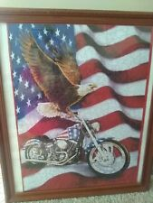 Symbols of Freedom Jigsaw puzzle(Framed)