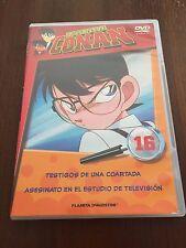 DETECTIVE CONAN DVD 16 - 1 DVD - 2 CAPS - 50 MIN - JONU MEDIA PLANETA DEAGOSTINI