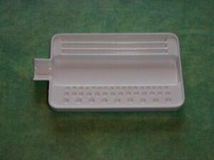 Sortierbrett klein für Steine und Perlen schwarz oder weiß lieferbar