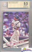 2017 Topps #NYY-1 Derek Jeter BGS 9.5 GEM New York Yankees Future HOF Legend