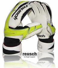 reusch keon pro SG gloves (lime green size, 11 ) no finger support