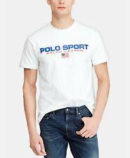 NWT Polo Ralph Lauren Polo Sport Men's USA Performance T-Shirt White XXL
