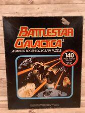 Battlestar Galactica 1978 Jigsaw Puzzle Complete Interstellar Battle 140pc