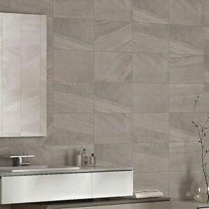 Fuji Stone Grey 400 x 250mm Wall Tiles - £15 Per Sqm, Box Coverage 1.4Sqm
