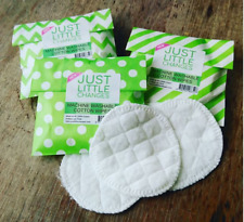Reusable Face Wipes - 8 100% Cotton Rounds Make Up Pads - Zero Waste Eco UK