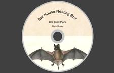 BAT HOUSE  & NEST NESTING BOX  DIY HOW TO BUILD PLANS CARPENTRY WOODWORK #Bats