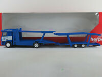 """Herpa 149631 MB Actros L Autotransporter-Hgz. (2002) """"Egerland"""" 1:87/H0 NEU/OVP"""