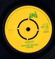 "Matthews Southern Comfort(7"" Vinyl)Woodstock-UNI-UNS 526-UK-1970-Ex-/VG+"