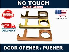 Antimicrobial No Touch Virus Prevention Sanitary Door Opener Button Pusher