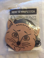 New Tandy Leather Budget Kitten Coin Purse~Item 4080