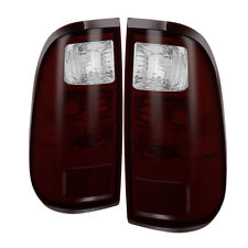 Ford 08-16 F250/F350/F450/F550 SuperDuty Red Smoked Tail Lights Factory Style
