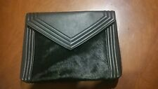 Zara clutch large black