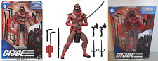 2020 G.I. Joe Classified Series RED NINJA 6 inch Figure NEW n hand READY TO SHIP