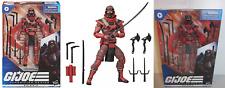 2020 G.I. Joe Classified Series RED NINJA 6 inch Figure NEW n hand READY TO SHIP