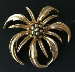 Marcel Boucher Marboux Sunflower Flower Brooch
