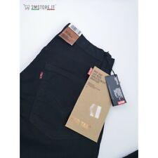 LEVI'S jeans LEVIS 525 RED TAB Nero SLIM Fit Bootcut Leg LYCRA stretch VINTAGE