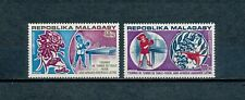 Malagasy  C124-5 MNH, Table Tennis, 1974