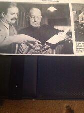 Ephemera 1954 Picture Bbc Arthur Swinson Herbert Langdon Missing From Home M48