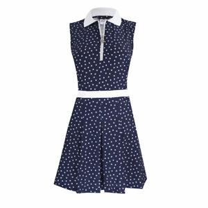 Daily Sports Eileen Navy Womens Sleeveless Golf Dress