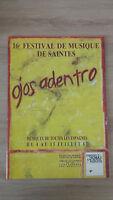 16ème Festival Di Musica Di Santi - Ojos Adentro - 1987 - Opera