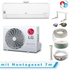 Klimaanlage mit Luftreiniger LG AP12RT 3,5 kW mit Montageset 7m Wärmepumpe