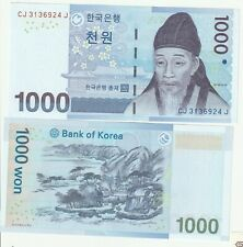 Korea 1000 won Banknote UNC 2005