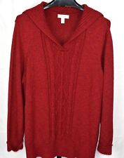 Dress Barn Red Sweater Plus Size 3X