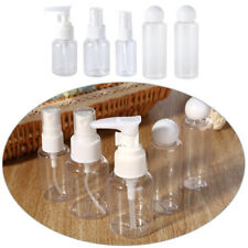 5Pcs Empty Travel Bottles Leak Proof Plastic Travel Size Refillable Containers