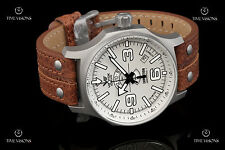 Vostok-Europe Expedition North Pole I Leather Strap Automatic Watch 2432-5955192