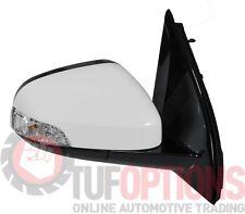 Ford FG & FGX Falcon RH Door Mirror Blinker & Memory WINTER WHITE 05/08-10/16