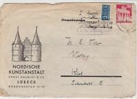Germany 1940s Obligatory Tax Aid For Berlin Slogan Cancel Stamps Cover 24127