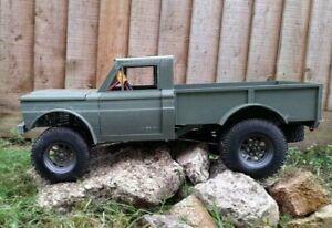 hpi venture jeep m715 rc crawler roller