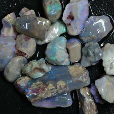 170  cts Australian Solid  Opal Rough, Lightning Ridge Parcel Fossil
