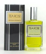 Tea Rose by Perfumer's Workshop for Women Eau de Toilette Spray 4.0 oz NIB